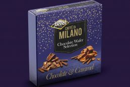 Caffe Di Milano Chocolate and Caramel Rolls Festive Gift pack