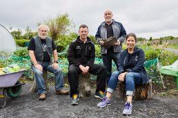 Croke Park Community Team visit to St Anne's Park, Raheny