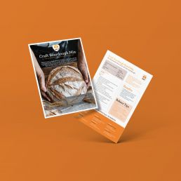 Odlums Professional - Sourdough Sell-In Sheet