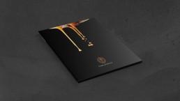 Findlater & Co Coffee brochure cover mockup