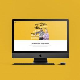 Lites Group website mockup by Shepherd & Flock